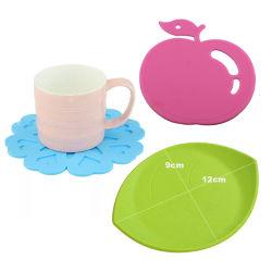 Venda por grosso barato Design Personalizado de silicone de padrão de xícara de chá de Mat bebida do Café Coaster