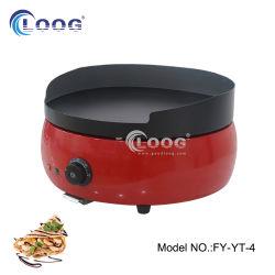 [هيغقوليتي] مطعم يطبخ آلة جيّدة مستديرة [كمّريكل] [فلت توب] شبكة محترفة [كست يرون] شوّاية فطيرة كهربائيّة