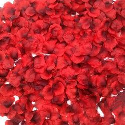 Silk Rosen-Blumen-Blumenblätter für Hochzeits-Dekorationen