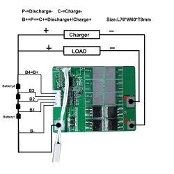 المنتجات الرخيصة LFePO4 بطارية LIon BMS LI 18650 PCM بقدرة 12 فولت لإيبالدراجة