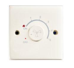مفتاح تعتيم المروحة الأحادية بمفتاح الحائط مع الضوء 630W 250 فولت~