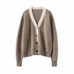De BasisWol van de Manier van de douane en de Kasjmier Gebreide Sweater van de Cardigan
