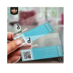 Cores completo de cartões de tarja Magetic PVC transparente para a tecla Auto Chaveiro Cartão de negócios