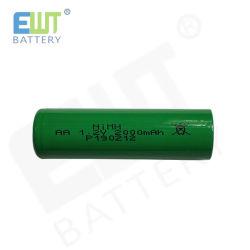 Никель-металл-гидридный аккумулятор 1,2 В 2000 Мач AA NiMH аккумулятор