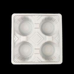Tire mais brancos do porta-copos de plástico bolha descartáveis