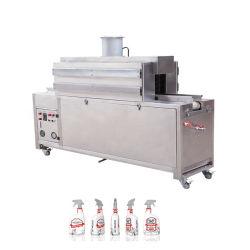 EPS-1A Automatische stoomdranken Voedingsverpakkingen verpakking Wrapping afdichting en Snijmachine voor krimptunnel voor fles met label-coating