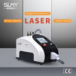 Professional Q-switch ND YAG Laser Tattoo de la beauté de la machine pour la dépose