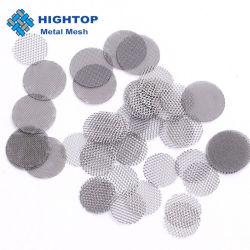 Einlagige runde Edelstahl-Maschendraht-Filter-Platten-Sätze