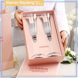 Coffret cadeau de luxe personnalisé Raydeng pour verres à vin