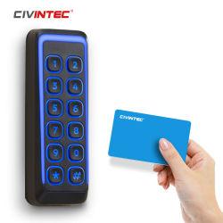 Сертифицированным fcc ce Osdp Wiegand Slimline доступ к панели управления устройства чтения карт памяти 125Кгц 13.56Мгц RFID карты NFC БЕЛЯ Mobile ID устройства чтения карт памяти