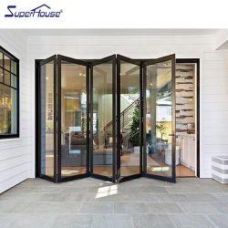 Fabricação portas Superhouse com acabamento interior porta de alumínio em aço