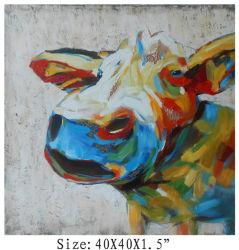 La Chine a fait 100% Handpainted 3-D'Art de la vache texturés (élément#705344)