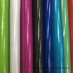 Brilhante Crystal de bolsas de couro de PVC do Espelho