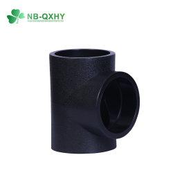 Accesorios de tubería de polietileno HDPE Buttfusion soldar la igualdad de la t