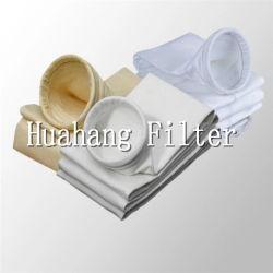 Suministro de la fábrica de poliéster, nylon, PP, PE, PTFE, filtro de mangas de Nomex filtro de los medios de comunicación