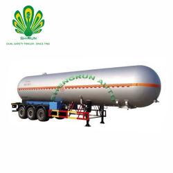 반 중국 Shengrun LPG 유조 트럭 가스 유조선 트레일러