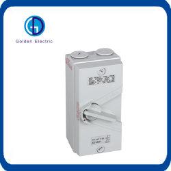 Ukf IP65 1p/2p/3p/4p 20A/35A/63A 250V/500Vのソケットのプラグの防水隔離の断路器スイッチ防水アイソレーター