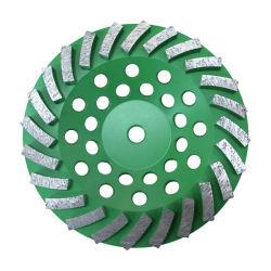 Ножи биметаллической пластины алмазного шлифовального круга чашка для резки и шлифовальный станок
