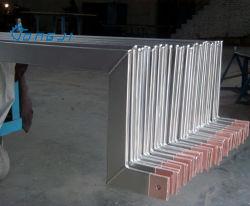 Explosion du matériel roulant Super barre carrée en cuivre plaqués en titane