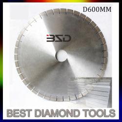 Silver Granite brasée Diamond lame de scie de coupe