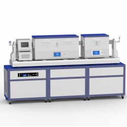 Nano de preparación de material de deposición de vapor químico horno con generador de plasma