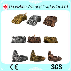 Comercio al por mayor de diferentes tipos de arte de la resina Cenicero ornamento para el hogar