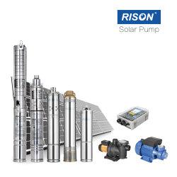 """Pompa solare del migliore venditore 4 """", sistema di pompaggio della famiglia, kit solare della pompa, acciaio inossidabile"""