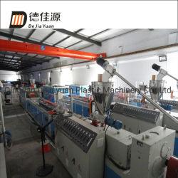 PE/PVC WPC Profil Wood-Plastic-de-chaussée de ligne de production de machines d'Extrusion de Sjz80/156