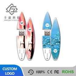 Commerce de gros logo personnalisé Skateboard Surfboard voile cadeau publicitaire lecteur Flash USB 2g 4g