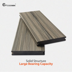 Terrasse extérieure avec terrasse en bois synthétique Composite Decking en plastique en bois