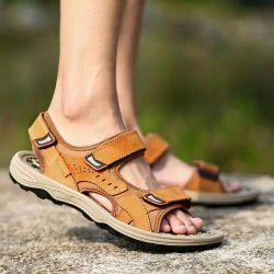 Os fabricantes Athletic Sport Sandals desliza homens Piscina verão a Praia dos Pescadores de couro Calçado Casual Caminhadas Factory Calçado de desporto