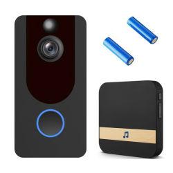 V7 de 1080P HD Video WiFi cámara de seguridad inteligente Inicio Timbre Timbre Timbre inalámbrico