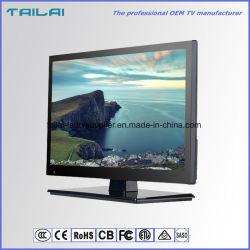 16:9 completo nero di luminosità della televisione 200CD/M2 della lampadina di HD LED