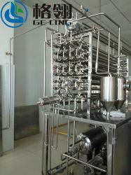 Machine van de Sterilisatie van het Type van Sterilisator van het Vruchtesap de Tubulaire in Shanghai