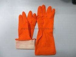 مطبخ Cleanroom كيتشين قفازات غسيل الملابس Latex Glove/HouseboHold مقاومة للحرارة