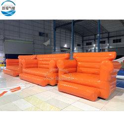 Personalizar plegable modelo sofá hinchable de PVC muebles