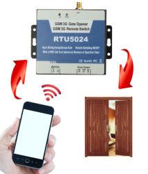 Abridor de puerta receptor GSM 2G 3G 4G inalámbrico de Control de acceso remoto apertura de puerta de llamada gratuita