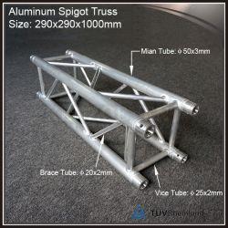 コンサートのステージングのプロジェクトのための290X290mmアルミニウム照明トラス段階のトラス