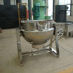 Commerical che cucina la caldaia rivestita elettrica dell'acciaio inossidabile