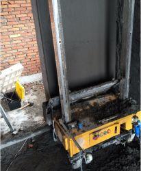 Auto mur Mur de la machine de rendu de la machine de plâtrage pour mortier de chaux ciment de gypse de la pulvérisation