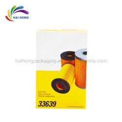 Contenitori impaccanti personalizzati di filtrante di combustibile del documento di scheda bianca