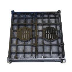 Queimador de gás de Fábrica do fornecimento de aço dúctil, fundição, ferro, fecho da tampa do orifício de esvaziamento com Serviços de OEM