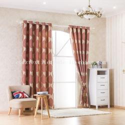 Foire de Canton le rétrécissement du tissu tissu rideau de la fenêtre Design