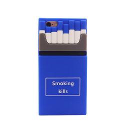 Personalizar o caso de silicone macio da forma do cigarro para o telefone celular