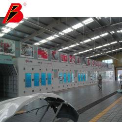 Шлифовальная линия линии краски авто металлические работы производственной линии высокой эффективности для покраски 4s магазин выбор