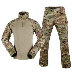 Uniformes militares del Ejército Multicam uniforme Camiseta combate Tactical Pants
