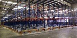 Estanterías de almacén de palets Almacenamiento Estanterías Metálicas estanterías usadas Puerta Palete