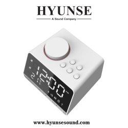 Chargeur USB numérique haut-parleur Bluetooth Radio réveil avec station météo