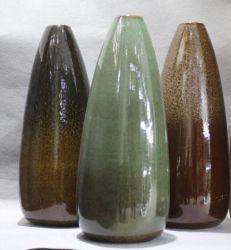 Vase en céramique avec Colored Glaze