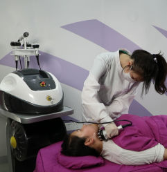 Machine multifonctionnelle de soin de peau de massage de perte de poids 5 en 1